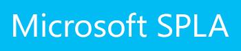 Microsoft SPLA Licensing