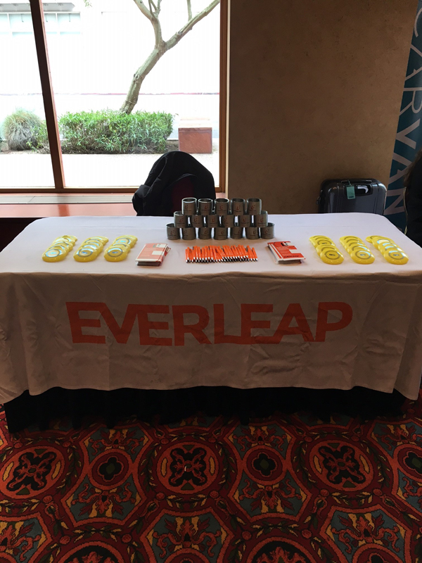 Everleap Cloud Hosting Sponsor Table