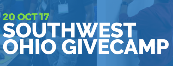 Southwest Ohio GiveCamp 2017