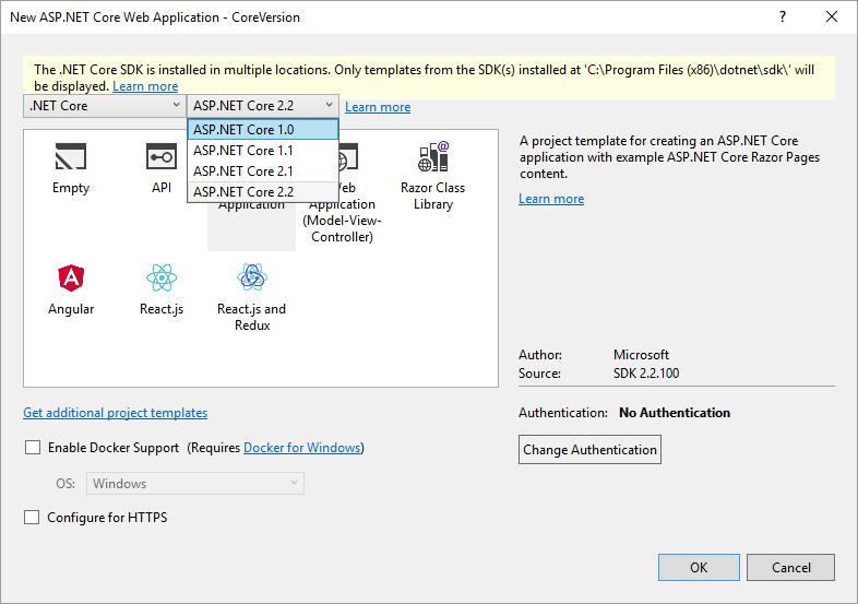 NET Core Tip: Changing the  NET Core version   Everleap